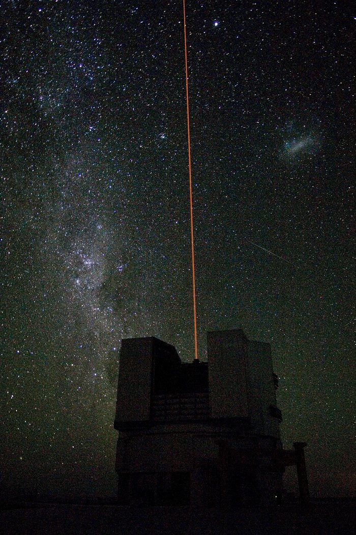 First light of the VLT Laser Guide Star