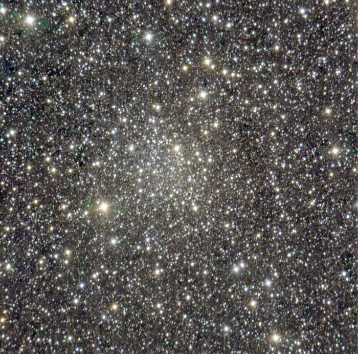 The newly identified cluster