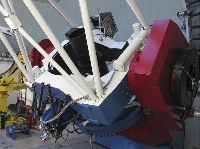 GROND en el Telescopio MPI/ESO de 2.2 metros