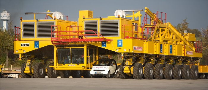 The ALMA Antenna Transporter