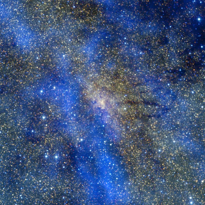 Submillimetre and infrared view of the Galactic Centre