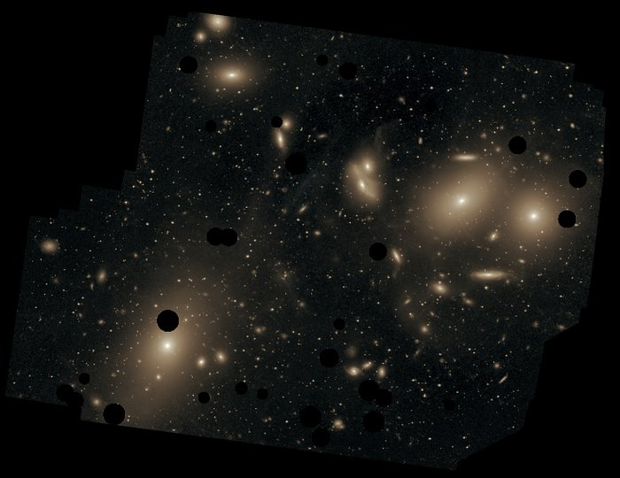 Messier 87 in the Virgo Cluster