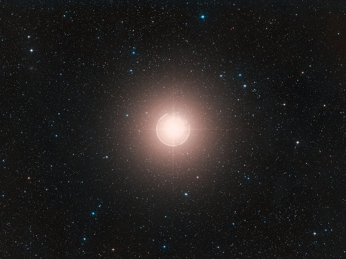 Digitized Sky Survey image of Betelgeuse