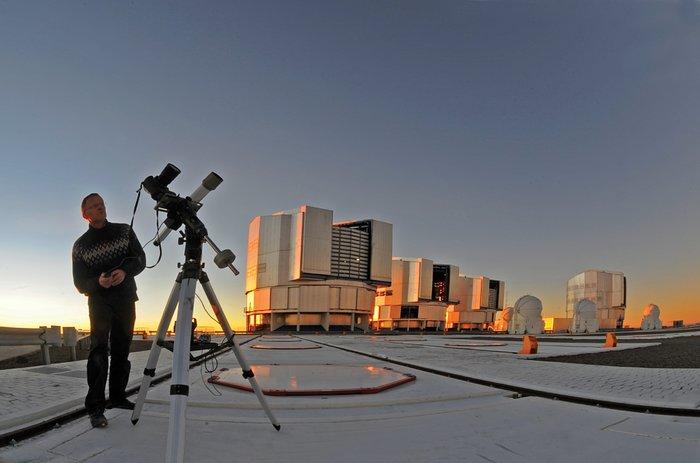 El astrofotógrafo Serge Brunier