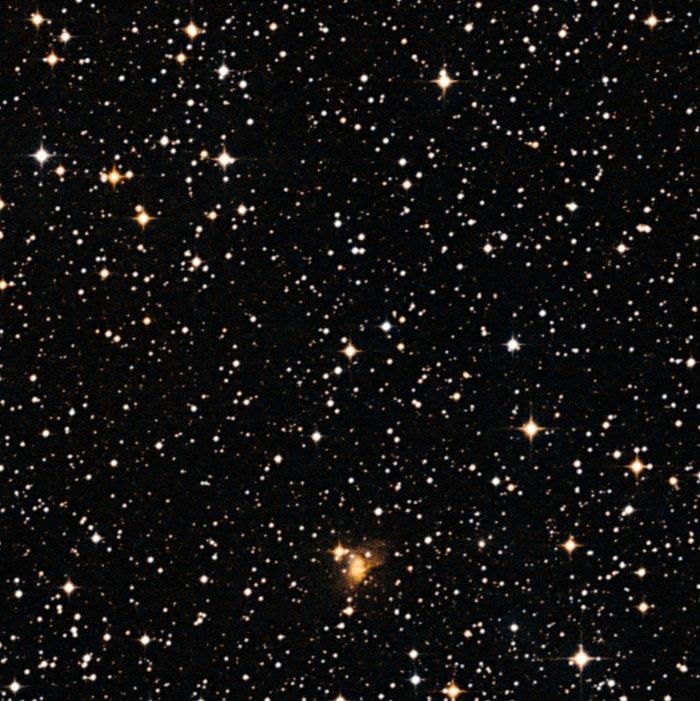 La estrella CoRoT-7 que alberga un planeta