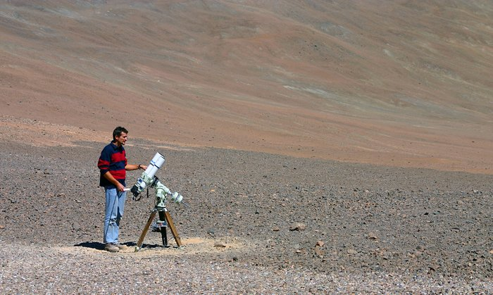 Astrofotógrafo Stéphane Guisard