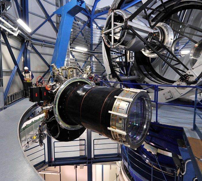 La Gigante cámara infrarroja de VISTA