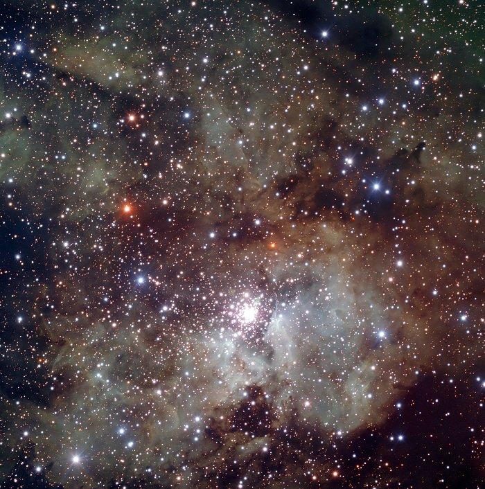 La pépinière d'étoiles NGC 3603