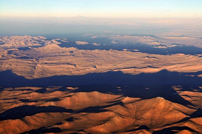 Cerro Paranal y Cerro Armazones en Chile