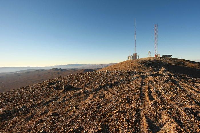 Pruebas de la calidad del cielo en Cerro Armazones