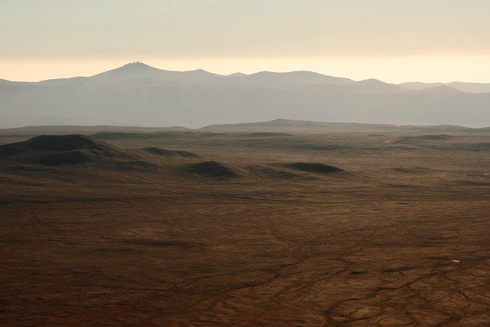 Vista desde Cerro Armazones