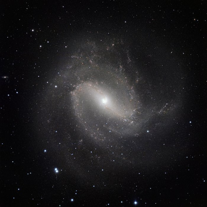 Den klassiske spiralgalakse Messier 83 set i infrarødt lys med HAWK-I