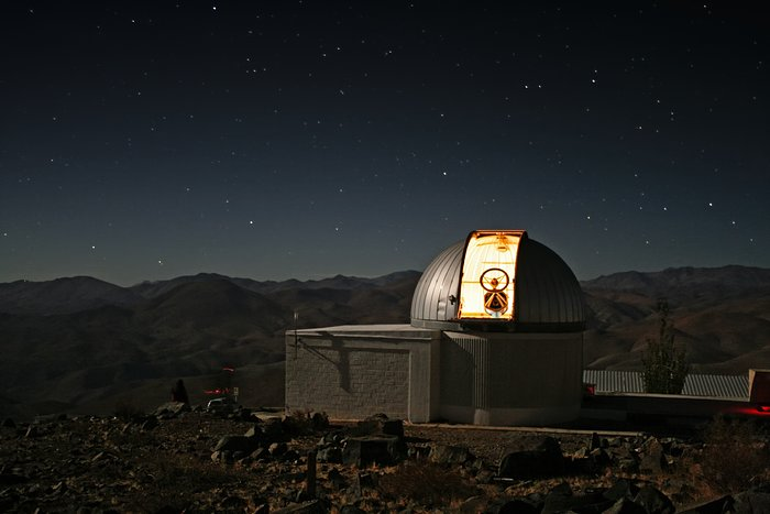 The TRAPPIST–south telescope at La Silla