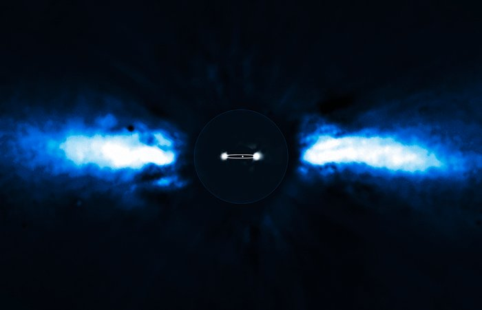 Exoplanet caught on the move