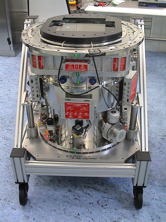 OmegaCAM, la monstruosa cámara del Telescopio de Rastreo del VLT