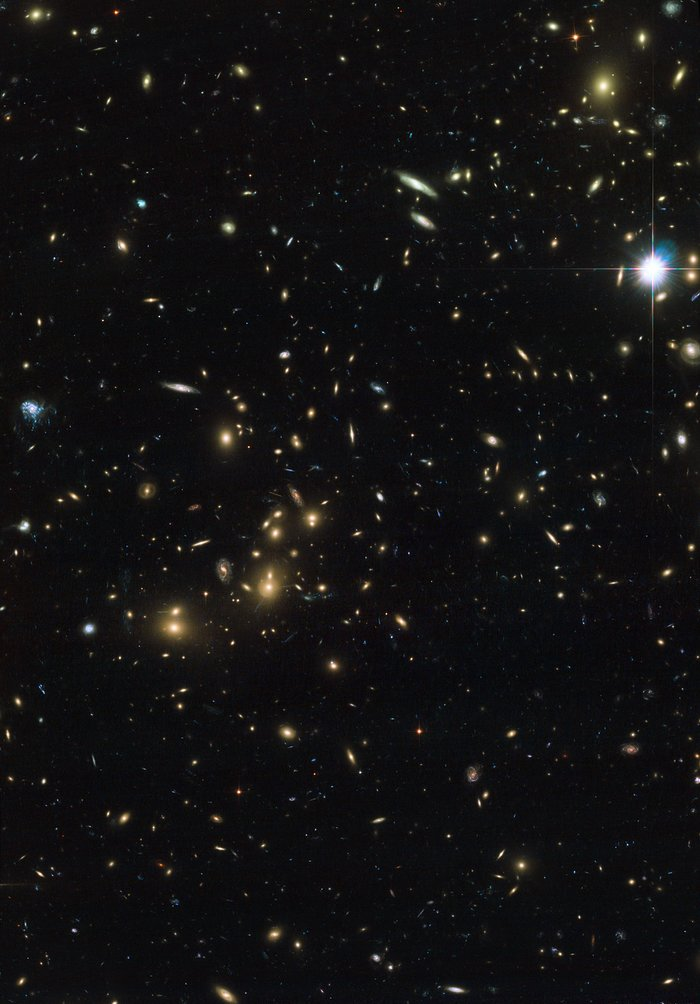Pandora's Cluster — Hubble view of Abell 2744