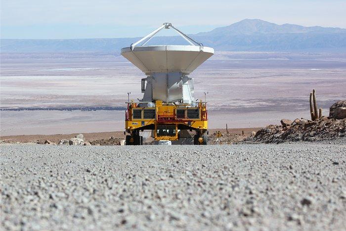 Antena europea de ALMA eleva el total en Chajnantor a 16