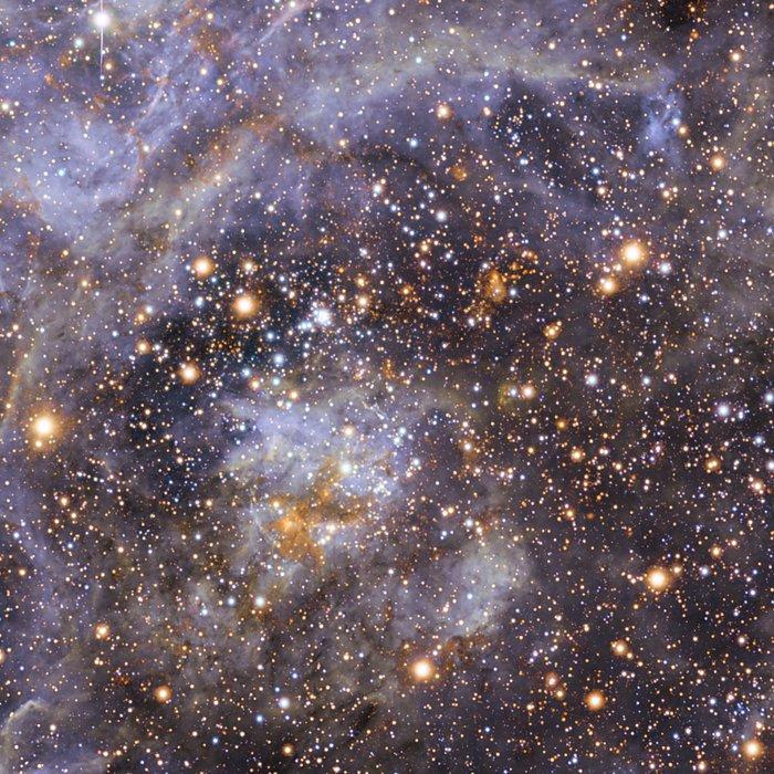 VFTS 102: la estrella que rota con más velocidad (sin anotaciones)