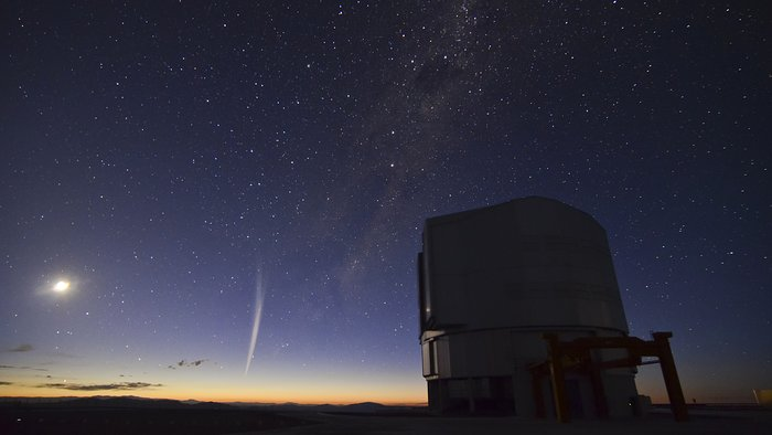 Christmas Comet Lovejoy Captured at Paranal