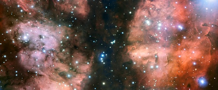 Close-up van NGC 6357