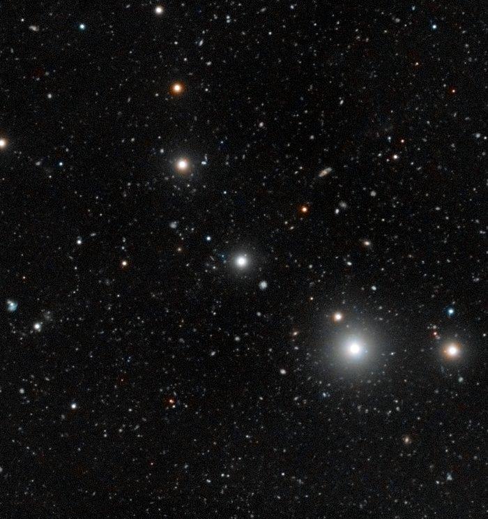 Les galaxies noires observées pour la première fois