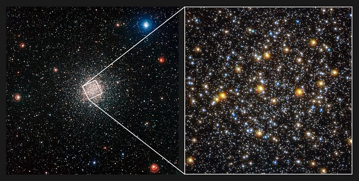 Comparison of views of the globular star cluster NGC 6362 from WFI and Hubble
