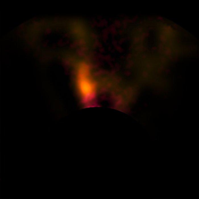 VLT-bilde av protoplaneten rundt den unge stjernen HD100546
