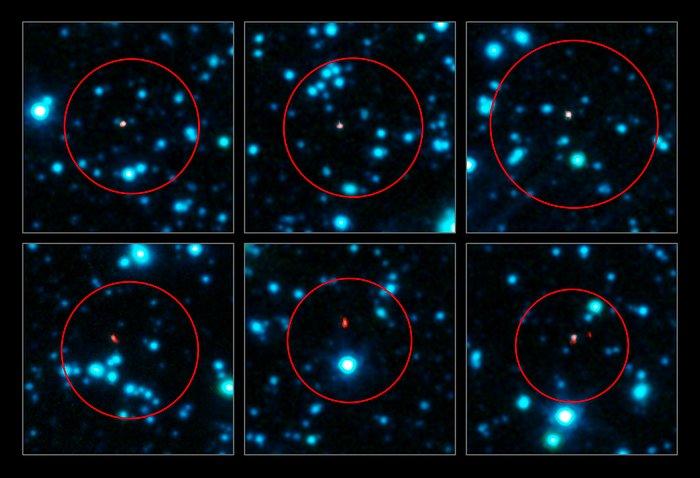 ALMA rozpoznává mladé galaxie