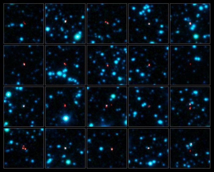 ALMA détecte des galaxies primordiales