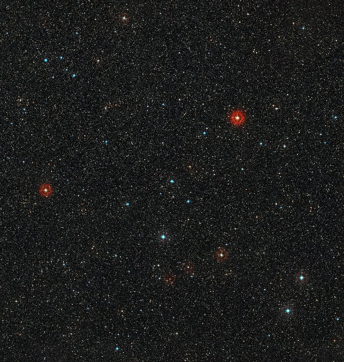 View of the sky around young star HD 95086