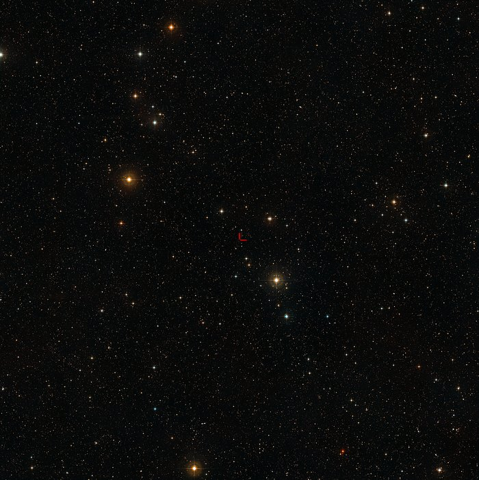 The sky around the quasar QSO J2246-6015