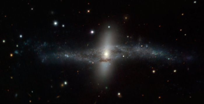 MUSE image of the strange galaxy NGC 4650A
