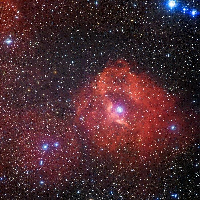 Die Sternentstehungsregion Gum 41