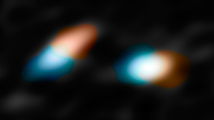 The motions of material in the discs around the young double star HK Tauri