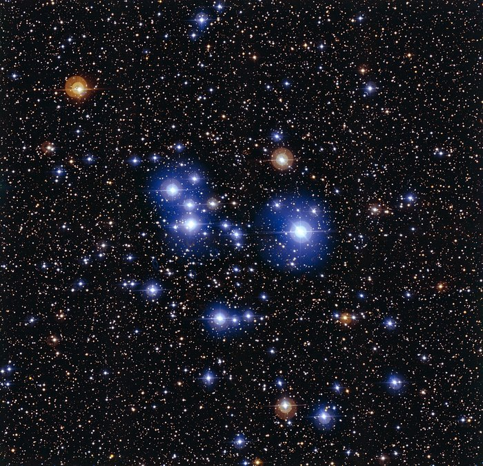 The star cluster Messier 47