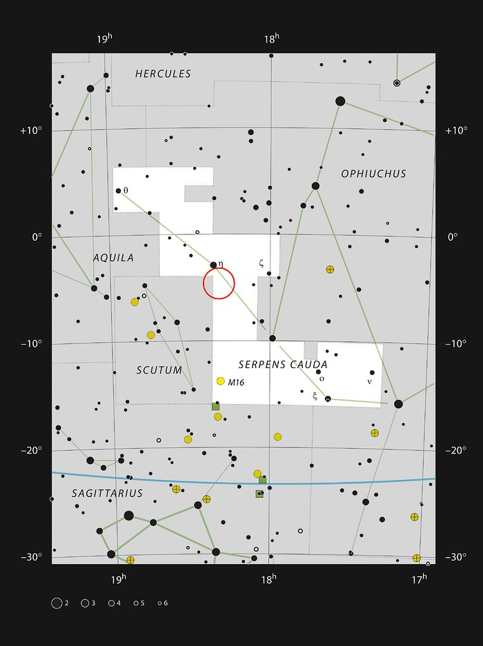 LDN 483 in the constellation of Serpens
