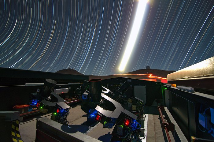 De Next-Generation Transit Survey (NGTS) op Paranal