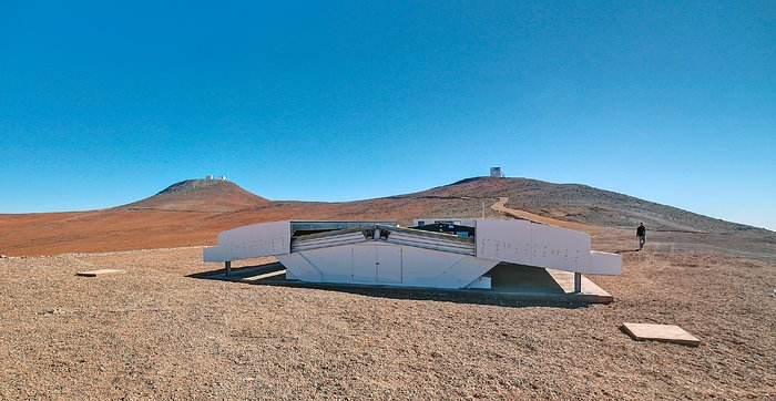 O Next-Generation Transit Survey (NGTS) no Paranal