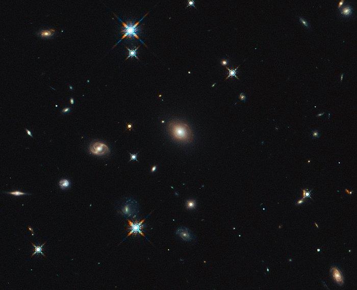 Hubble image of the region around SDP.81