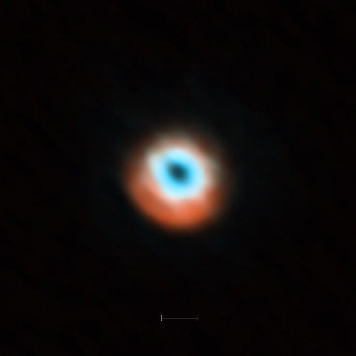 Image d'ALMA du disque transitoire DoAr 44