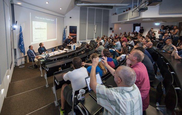 Pressemøde i ESOs hovedkvarter 3