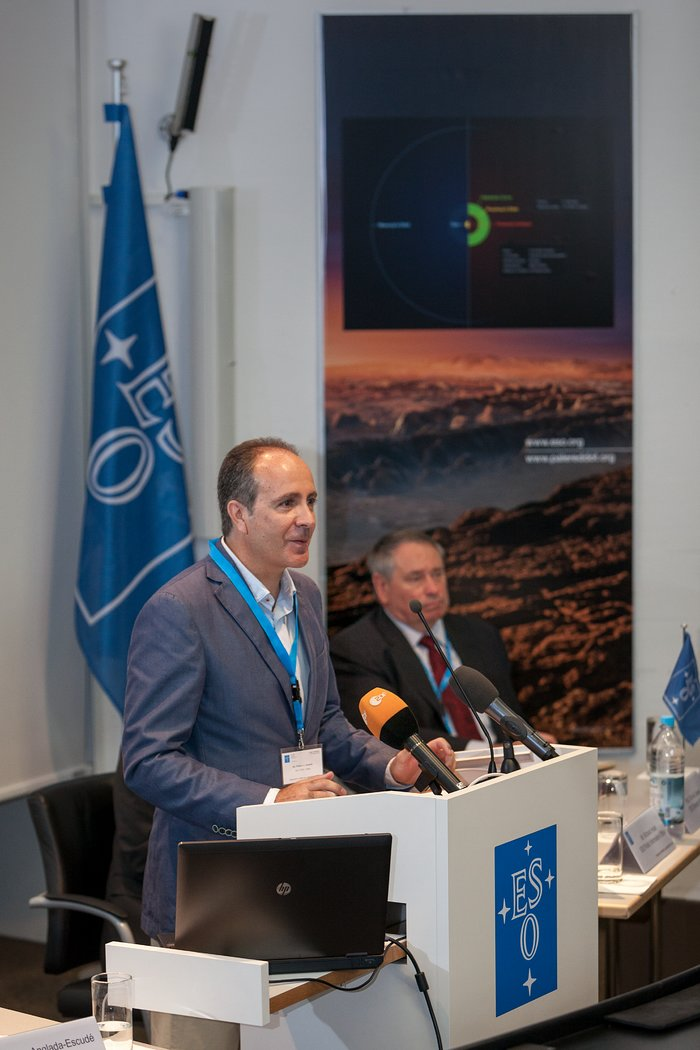 Press conference at ESO HQ