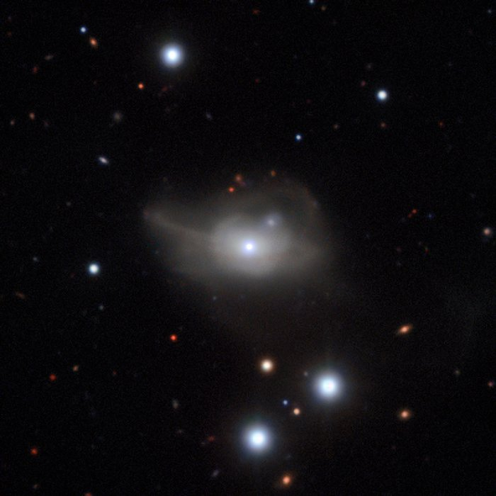 La galaxie active Markarian 1018