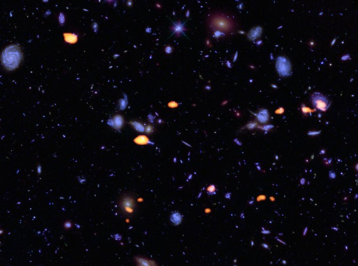 ALMA deep view of part of the Hubble Ultra Deep Field