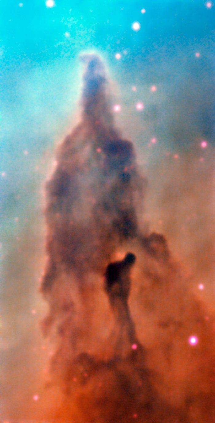 Region R45 in the Carina Nebula