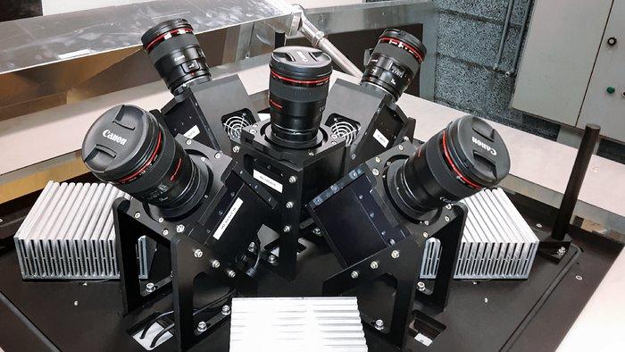 Le chasseur d'exoplanètes MASCARA à l'Observatoire de La Silla de l'ESO