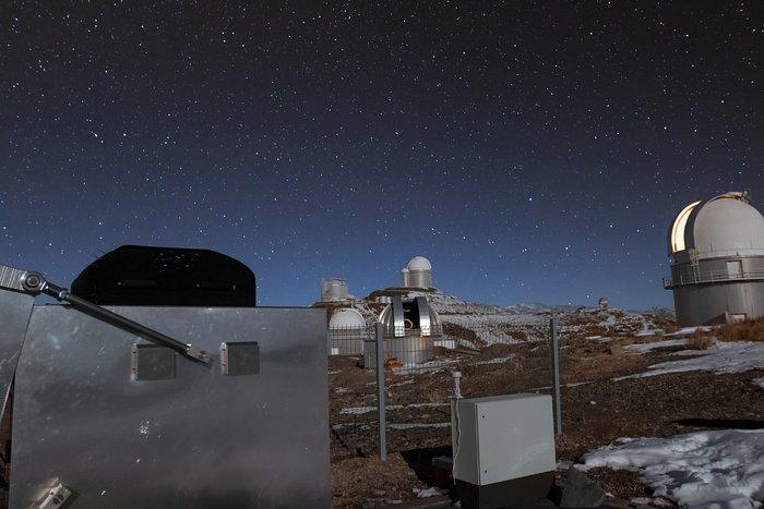 Exoplanetenjager MASCARA op ESO's La Silla-sterrenwacht