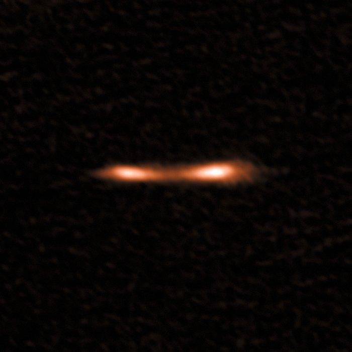 Le Cil Cosmique vu par ALMA