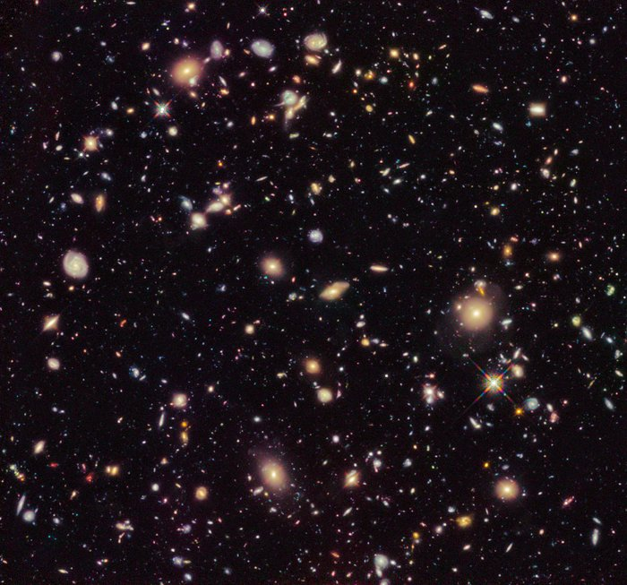 Hubble Ultra Deep Field fra 2012