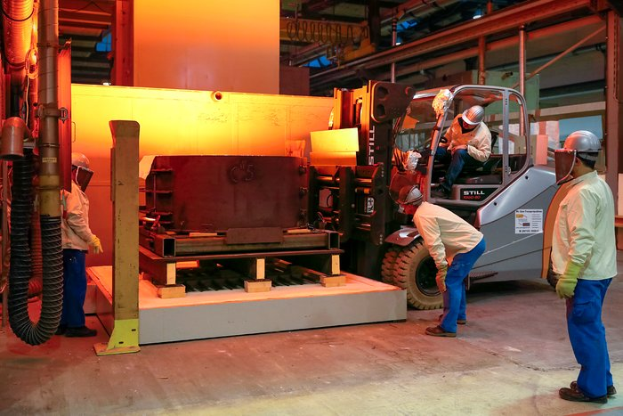 First ELT main mirror segments successfully cast
